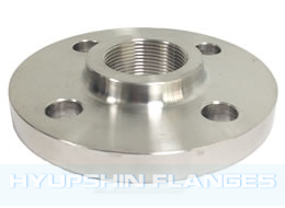 Threaded Flange, Screwed BSPT Flange, Hyupshin Flanges